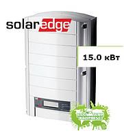 SolarEdge SE 15k солнечный сетевой инвертор (15,0 кВт, 3 фазы), фото 1