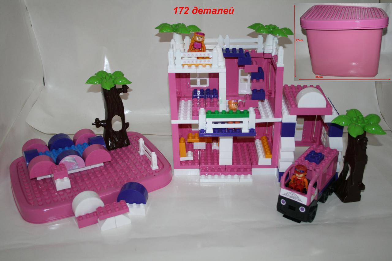Конструктор Дом для принцессы 175дет. Фламинго/8