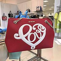 Шикарная, стильная  женская сумка Love Moschino