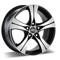 Литые диски Autec Ethos R18 W8 PCD5x112 ET35 DIA70.1 (black polished)