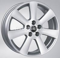 Литые диски Borbet CA R17 W7 PCD5x112 ET38 DIA72.6 (metal grey)