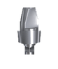 Абатмент титановый прямой с винтом 5,5 мм (3мм)
