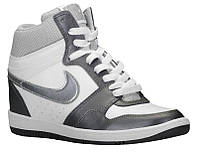 Кроссовки/Кеды (Оригинал) Nike Force Sky High White/Metallic Dark Grey/White/Metallic Silver
