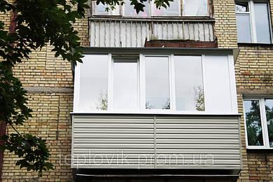 Наружная обшивка балкона — Сайдинг