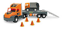 "Машина ""Super Tech Truck"" с мусоровозом Тигрес //"