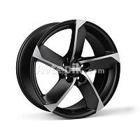 Литые диски Fondmetal 7900 R18 W8 PCD5x114.3 ET48 DIA67.1 (matt black polished)