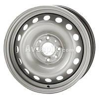 Стальные диски Кременчуг Daewoo. Opel R14 W5.5 PCD4x100 ET49 DIA56.6 (black)