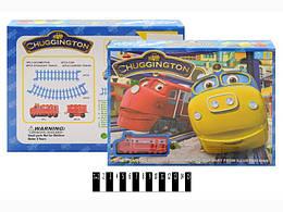 """Железная дорога """"Чаггингтон: Веселые паровозики"""""""", в кор. 27*21*4 см. /96-2/"""