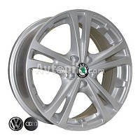 Литые диски Replica Volkswagen (Z616) R16 W6.5 PCD5x112 ET42 DIA57.1