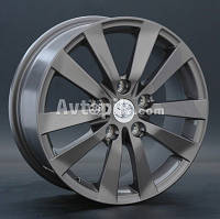 Литые диски Replay Toyota (TY46) R15 W6 PCD5x100 ET45 DIA54.1 (silver)