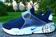 Мужские кроссовки реплика Nike Sock Dart Blue/White 833124-401, фото 2
