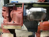 Переоборудование пускового двигателя под стартер без замены кожуха