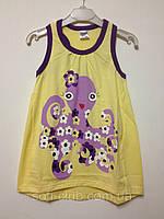 Детская одежда оптом Майка-туника для девочек YALOO оптом р.92-128см, фото 1