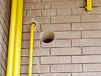 Отвір під газову трубу методом безударного алмазного буріння свердління , фото 1