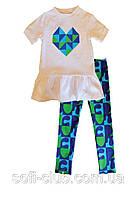Детская одежда оптом Футболка для девочек YALOO оптом р.80-122см, фото 1