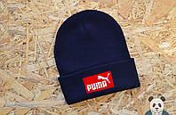 Стильная шапка мужская пума,Puma