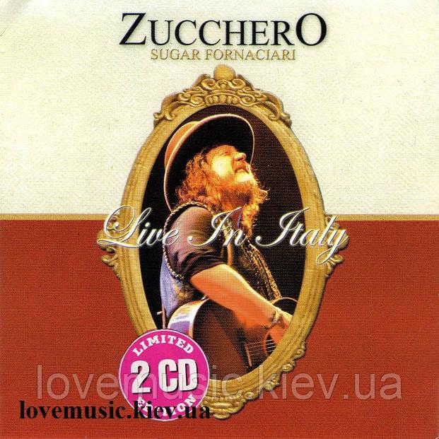 Музичний сд диск ZUCCHERO Live in Italy (2008) (audio cd)