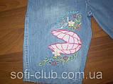 Шорты джинсовые для девочек оптом размеры 2-3 года, фото 2