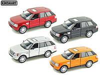 KINSMART Range Rover Sport, метал, инерц., в кор. 16х8х7 /96-4