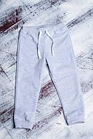 Штаны теплые с начесом серые для мальчика