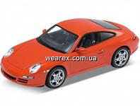 Welly.Сборная модель машинка металл 1:24 Porsche 911(997) Carrera S. Coupe