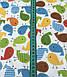 Хлопковая ткань птички разноцветные (КОРЕЯ) №582, фото 2
