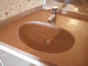 Раковины в ванную комнату в цвет столешницы