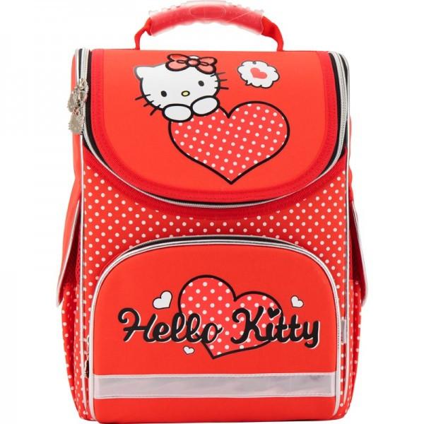 Рюкзак школьный каркасный (ранец) 501 Hello Kitty-1 Kite
