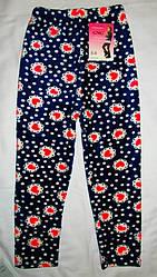 Детские гамаши лосины штаны махровые 7-8 лет