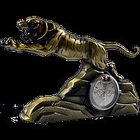 Зажигалка подарочная с часами Тигр №4372