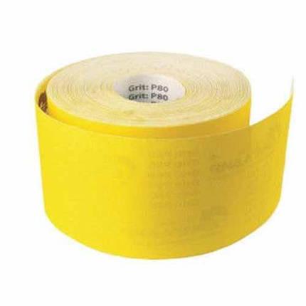 Наждачная бумага на бумажной основе Werk 115 мм х 50 м, К60, фото 2