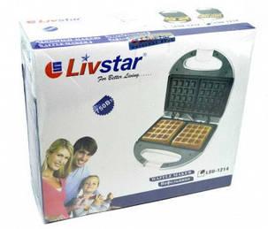 Вафельница для бельгийских вафель LivStar LSU-1214, фото 2