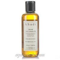 Антицеллюлитный масло, 210 мл Anti cellulite oil Khadi 210 ml