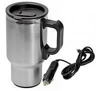Термокружка с подогревом для авто 12v Car Mug