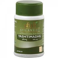 Яштиматху, Шри Шри Аюрведа Yashtimadhu Sri Sri Ayurveda 60 таб