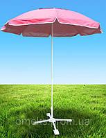 Зонт круглый 6-угольный с клапаном 3,5 м для торговли, отдыха на природе (6 метал. спиц, цвета в асс.) DJV /23
