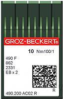 Игла Groz-Beckert 490 FR/490F/862/2331 F Упаковка 10шт