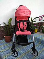 "Детская прогулочная коляска ""Baby tame"" КОРАЛЛ"