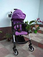 """Детская прогулочная коляска """"Baby tame"""" Фиолет."""