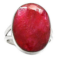 Овальный перстень с рубином , размер 18 от студии LadyStyle.Biz, фото 1