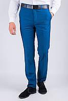 Классические мужские брюки, светлые  AG-0003321 Синий