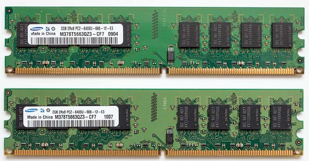 Память Samsung DDR2 2Gb PC2-6400 800MHz INTEL+AMD Гарантия