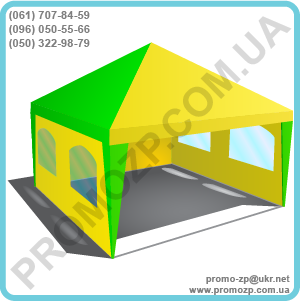 Шатёр Разборной 4х4 метра, шатёр, тент шатер, палатка шатер, палатка торговая, торговая палатка, фото 2