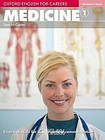 Учебник Oxford English for Careers: Medicine 1, Sam McCarter | OXFORD