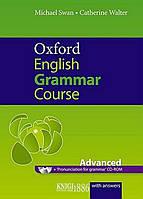 Книга с диском Oxford English Grammar Course Advanced with Answers, Michael Swan | OXFORD