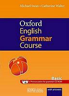 Книга с диском Oxford English Grammar Course Basic with Answers, Michael Swan | OXFORD
