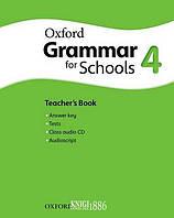 Книга для учителя с аудио-диском Oxford Grammar for Schools 4, Martin Moore   OXFORD