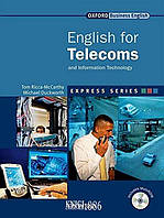Учебник с диском Express Series English for Telecoms and Information Technology, Tom Ricca-McCarthy | OXFORD
