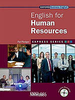 Учебник с диском Express Series English for Human Resources, Pat Pledger | OXFORD