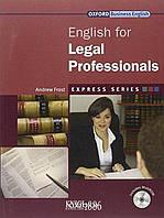 Учебник с диском Express Series English for Legal Professionals, Andrew Frost | OXFORD ()